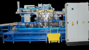 Buzdolabı Üst Panel Sacı Trim ve Tam Otomatik Toks Makinesi